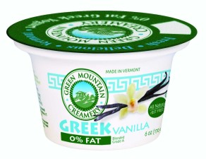 Green Mountain Creamery Vanilla Yogurt First Prize